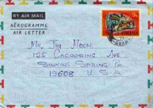 Ghana, Air Letters