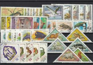 mongolia stamps ref r10898
