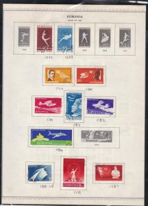 romania issues of 1960 stamps page ref 18288