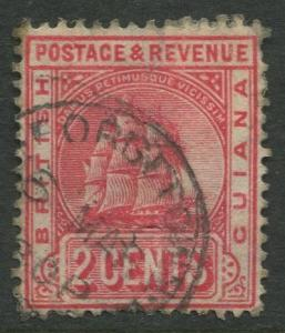 STAMP STATION PERTH British Guiana #172 - Seal Definitive Used Wmk 3 CV$1.10