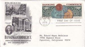1975, Centennial Banking & Commerce, Art Craft, FDC (E12283)