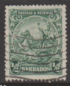 Barbados Sc#166a Used