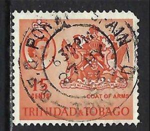 TRINIDAD & TOBAGO 116 VFU ARMS V245-7