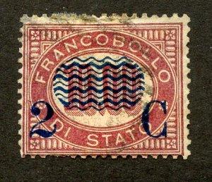 Italy, Scott #44, Used
