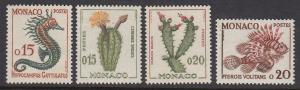 Monaco 470-3 Cactus & Fish mnh