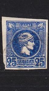 GRIECHENLAND GREECE [1889] MiNr 0081 a C ( O/used )