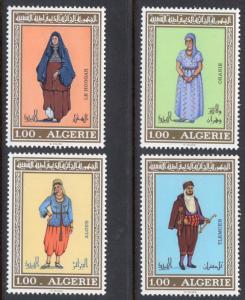 ALGERIA SCOTT 534-537