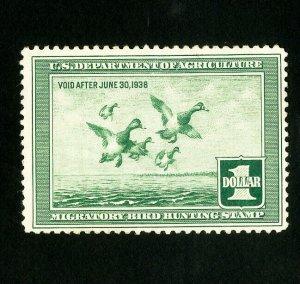 US Stamps # RW4 VF Unused