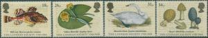 Great Britain 1988 SG1380-1383 QEII Linnean Society set MNH