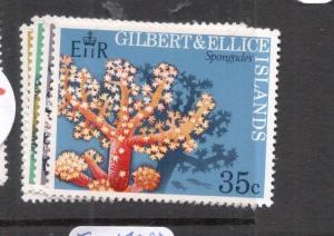 Gilbert & Ellice Coral SC 199-202 MNH (5djr)