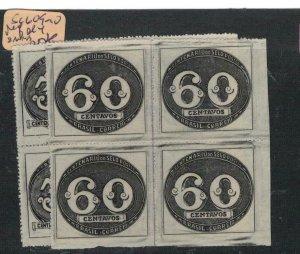 Brazil SC 609-10 Perf Block of 4, 2 MNH (5eth)
