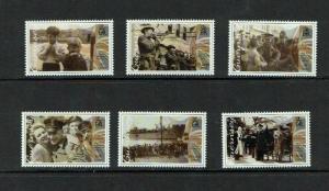 Guernsey: 2015, 70th Anniversary of Liberation,  MNH set