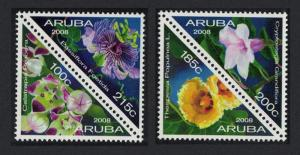 Aruba Orchids Flowers 4v SG#428-431