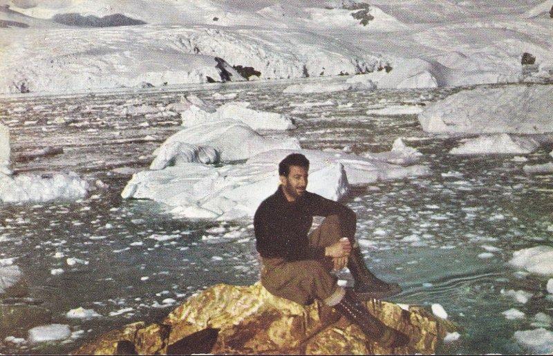 Argentina 1959 Post Card Color Cabo Primavera, Dr. Cesar Lisignoli. Antarctica