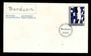 Canada-Sc#889-stamp on FDC-Canadian Painters-1981-