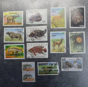TANZANIA  Stamps  stock page 4D  1990s    ~~L@@K~~