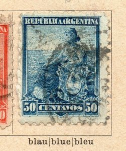 Argentina 1899 Early Issue Fine Used 50c. NW-11764