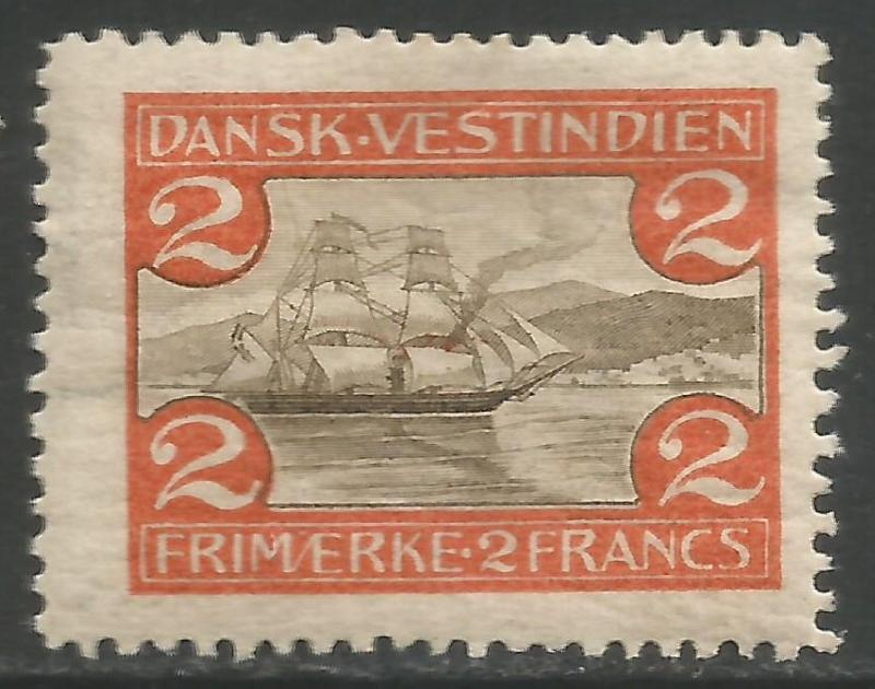 DANISH WEST INDIES 38 MOG Z2-149