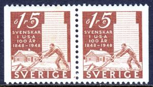 Sweden - Scott #403 - MNH - Pair - SCV $0.50