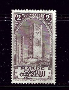 French Morocco 56 MH 1917 issue
