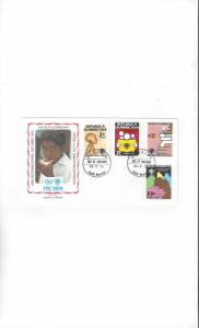 Dominican Republic FDC International Year of the Child 1979 Official Cachet
