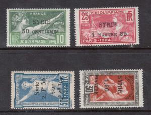 Syria #133 - #136 VF Mint Set