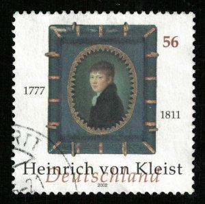 Deutscheland, Birth of Heinrich von Kleist 1777-1811, 56Pfg (T-9340)