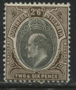 Southern Nigeria KEVII 1903 2/6d mint o.g.