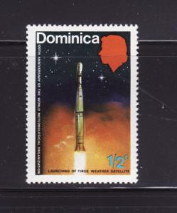 Dominica 354 MNH Launching of Tiros Weather Satellite