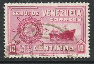 Venezuela 1948-50 10c used South America A4P53F54