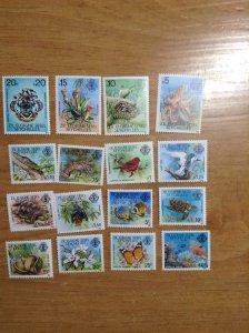 Seychelles (Zil Eloigne Sesel) #  1-16  MNH