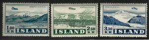 Iceland Scv C27 - C29  Mint NH F-VF Cat $65...Quality Bargain!