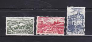 Luxembourg 247-249 U Views (A)