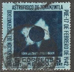 MEXICO 775, 5cts Tonanzintla Astrophysics Observatory. Used. VF. (74)