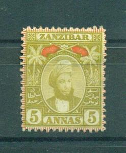 Zanzibar sc# 61 mdg cat value $20.00