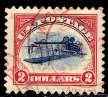 #4806a Inverted Jenny (off paper) - Used