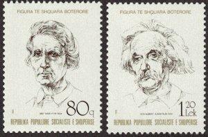 1989 Albania 2399,2401 Nobel Laureates 3,00 €