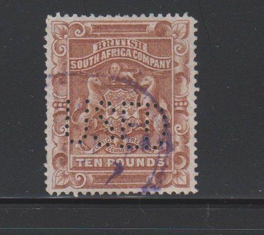 Rhodesia Scott # 19 VF Used neat revenue cancel nice color cv $ 75 ! see pic !