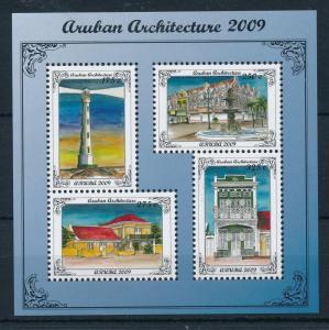 [AR424] Aruba 2009 Architecture Lighthouse MNH Souvenir Sheet