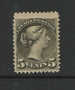 Canada SC# 38, Mint Hinged, Hinge/Page Remnants, gum dist, 45% orig gum - S11363