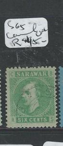 SARAWAK (P2001B) BROOKE 6C  SG5  BETTER CANCEL  VFU