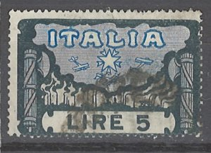 COLLECTION LOT # 2398 ITALY #164 1923 CV=$57.50