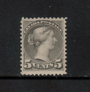 Canada #42 Very Fine Mint Very Lightly Hinged **With Certificate**