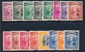 SARAWAK 109-134 MINT LH