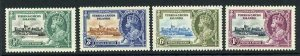 Turks and Caicos SG187/90 1935 Silver Jubilee M/M