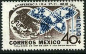 MEXICO C299 Conference of the International Bar Assn. MNH.