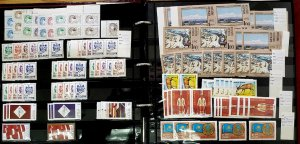 HERRICKSTAMP RUSSIA NEW REPUBLICS Unused 1000's of Stamps w/ Dupes in 3 Books