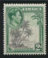 Jamaica SG 124c perf 13 x 13« Mint Never Hinged  SC# 119a     see details