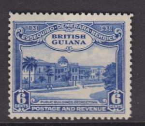 British Guiana - Scott 208 - General Issue -1931 - MNH - Single 6c Stamp