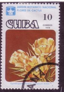 Cuba Sc. # 2191 CTO Flowers